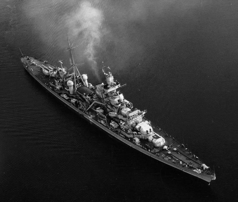 Насколько велика была мощь Кригсмарине?