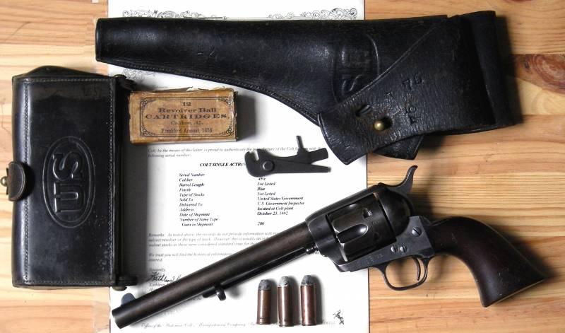 История самого знаменитого револьвера Кольта
