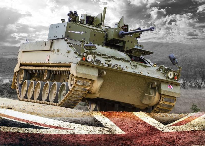 Семейство бронетехники Warrior (Великобритания)