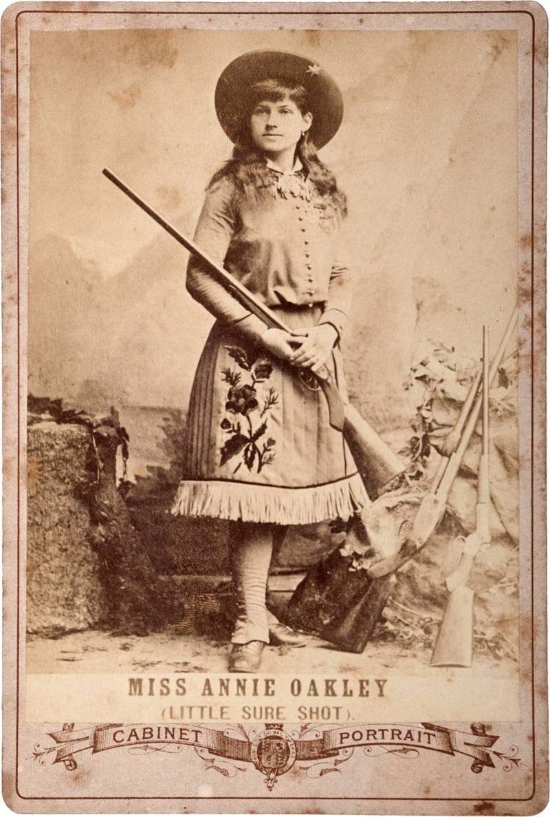 Энн Оукли – Малышка Меткий Выстрел