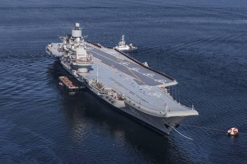 Критический рубеж Адмирала Кузнецова. Справится ли зонтик ПВОПРО нашего флагмана с отражением звёздного налёта ПКР