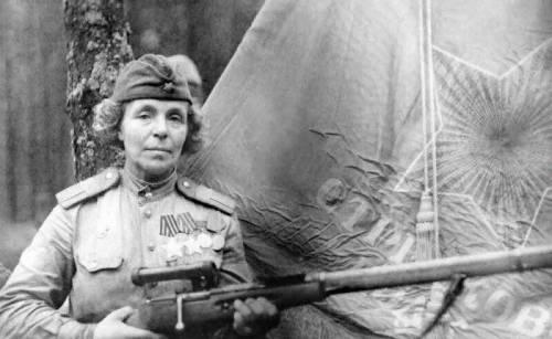 Petrova Nina Pavlova sniper