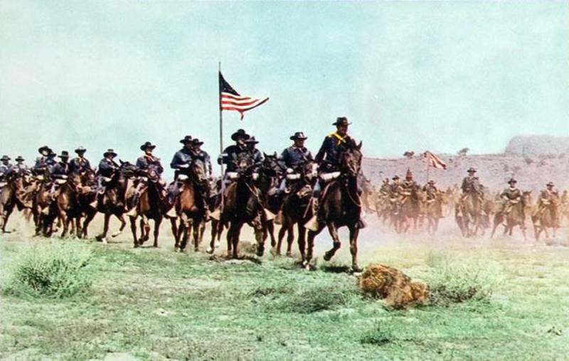 Американская армия и «индейская территория»