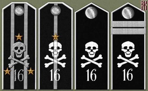 shoulder straps with skulls