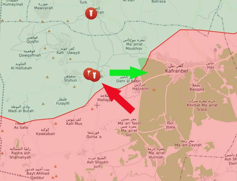 На юге сирийского Идлиба идут боестолкновения САА с протурецкими боевиками