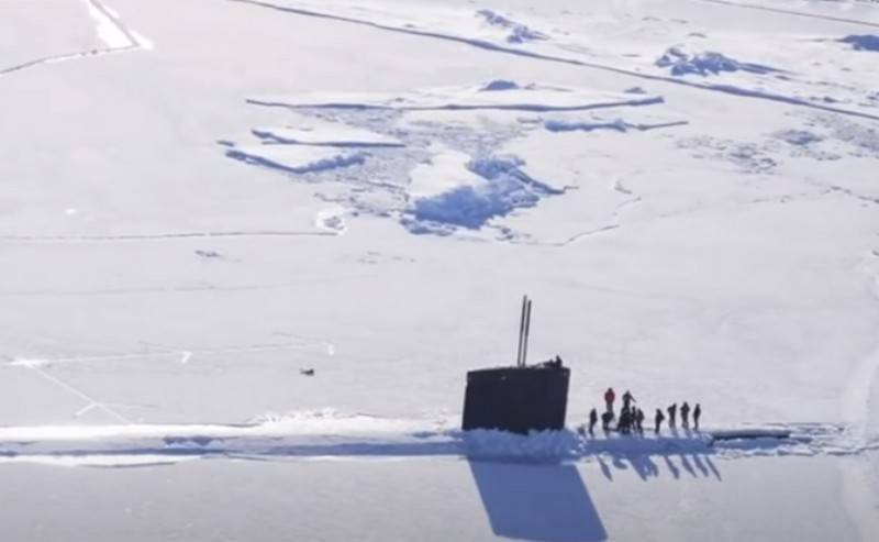 "US Navy intends to ensure ""freedom of navigation"" in the Arctic"