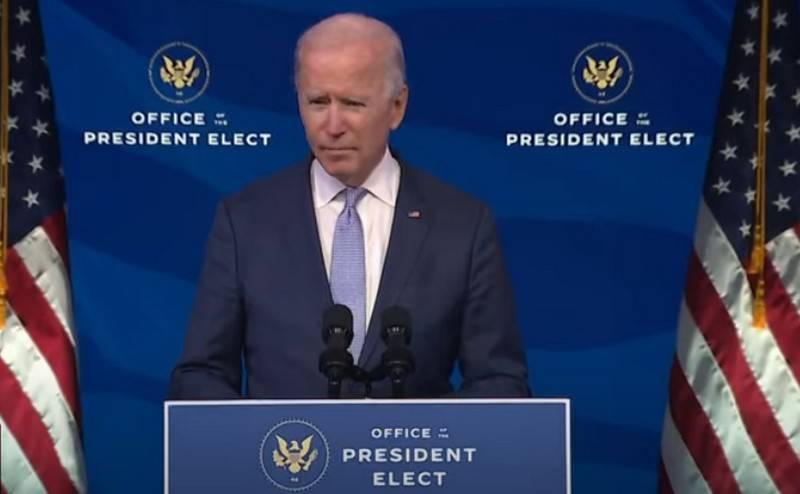 Joe Biden confirmé comme nouveau président des États-Unis