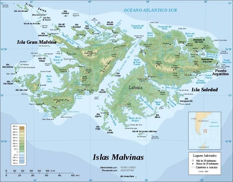 Falklands-82. Electronic warfare