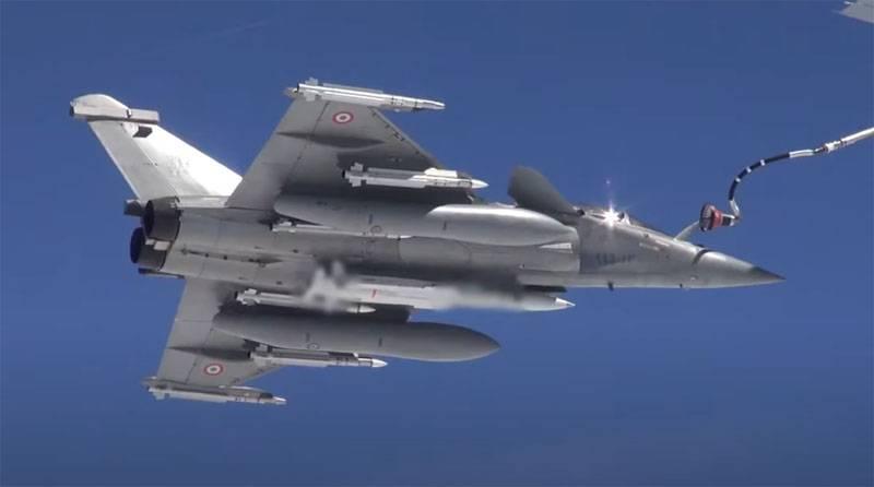 Во Франции с борта Rafale провели испытания крылатой ракеты MBDA ASMPA, способной нести ядерную боевую часть