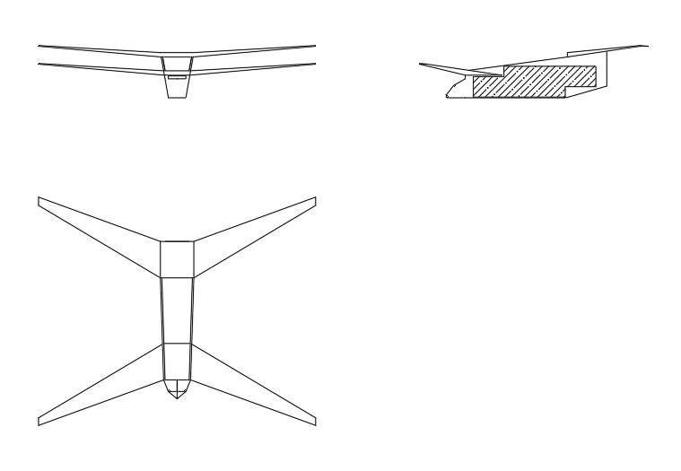 The concept of a shipborne unmanned aircraft AWACS
