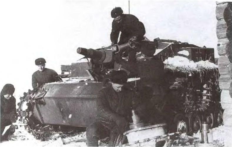Использование трофейных немецких танков и САУ в начальный период Великой Отечественной войны