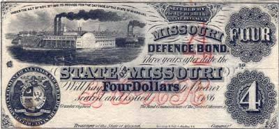 4 $ du Missouri