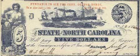 $ 5 from North. Carolina