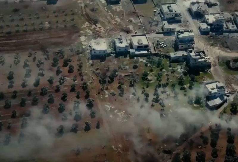 미확인 드론이 시리아 북부 터키 통제 구역을 공격