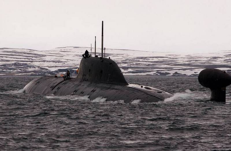 "The terms of the return to the Northern Fleet of the nuclear submarine ""Tigr"" of project 971 ""Shchuka-B"""
