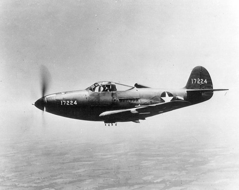 हुड के साथ समस्याओं का समाधान: बेल पी -39 एरीकोबरा लड़ाकू के इतिहास और डिजाइन पर
