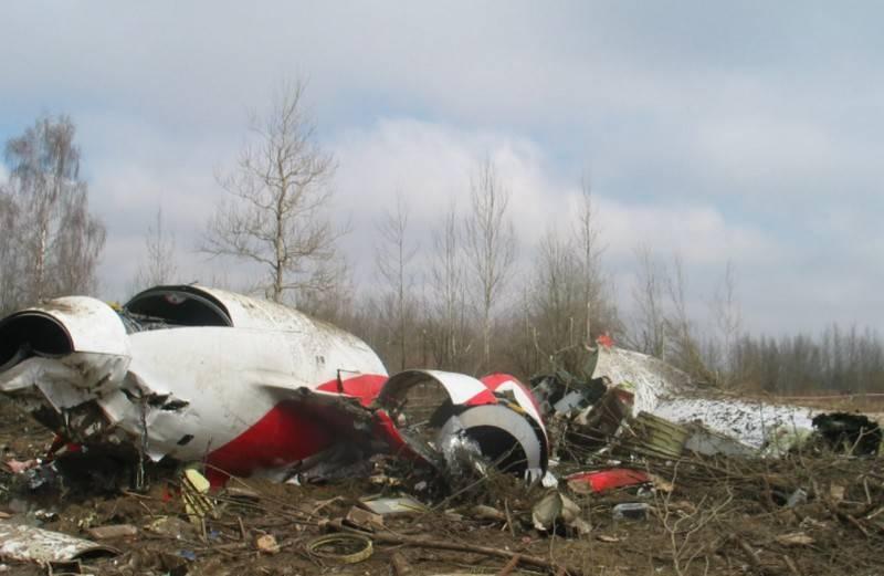 Russia refused to return the wreckage of Kaczynski's plane to Poland