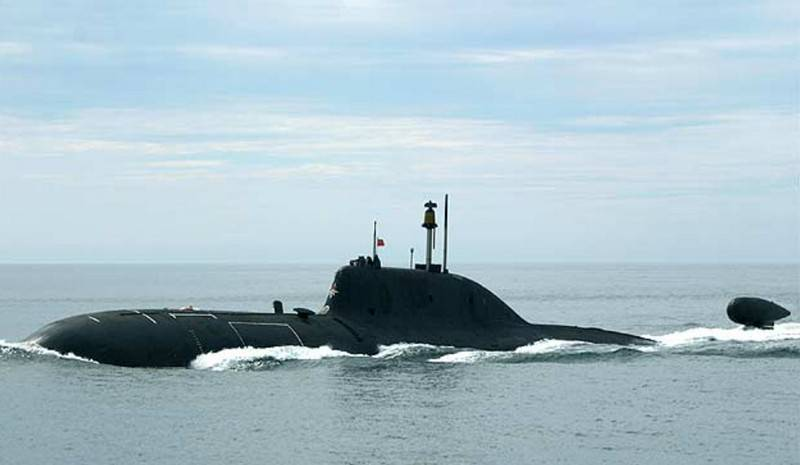 """The date of the return of the modernized nuclear submarine """"Samara"""" of project 971 to the fleet of the Pacific Fleet"""
