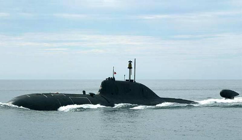 """I termini di restituzione alla flotta della flotta del Pacifico del sottomarino nucleare modernizzato """"Samara"""" del progetto 971"""
