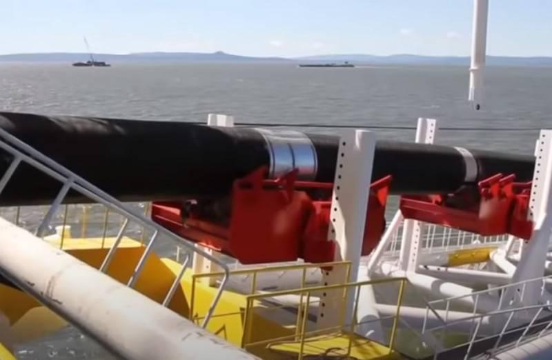 Gazpromは、Nord Stream2のデンマークセクションの建設の完了を開始します