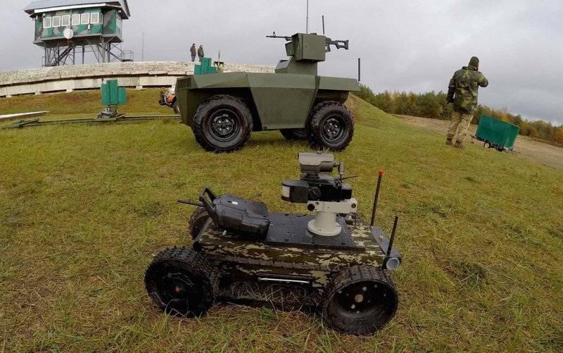 ВСУ готовят к участию в параде в честь 30-летия независимости Украины боевые роботизированные платформы