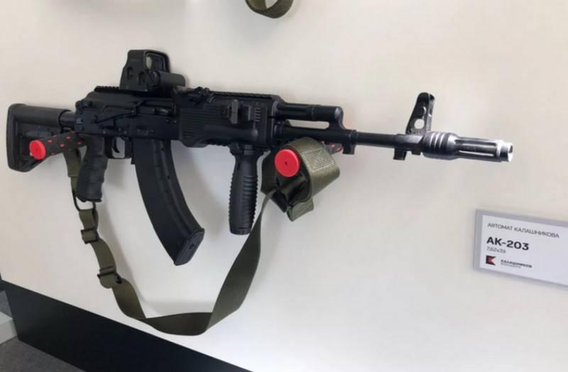 L'Inde est prête à démarrer la production sous licence de fusils d'assaut russes AK-203
