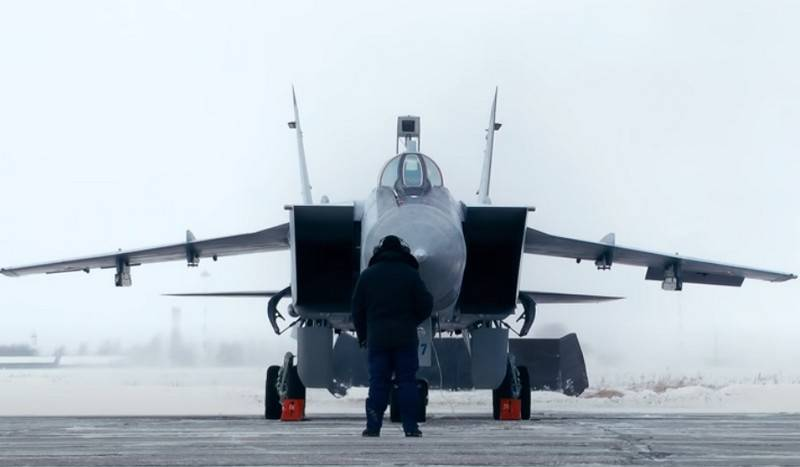 High-altitude interceptors MiG-31BM of the Northern Fleet will control the Arctic from Novaya Zemlya
