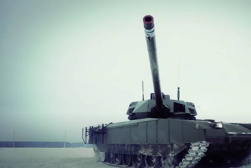 In the Chinese Sohu: Now Russia has an advantage in tank armor again