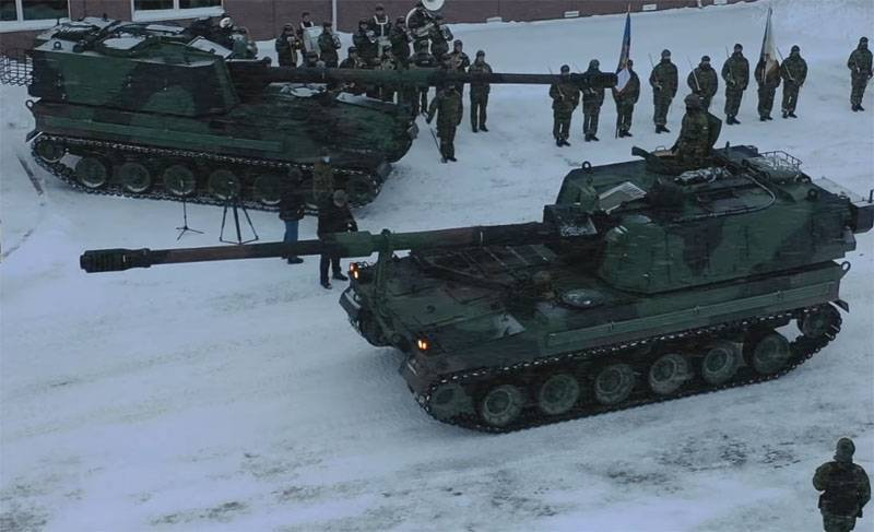 Due to frost and snowfall at the training camp of the Estonian reserve soldiers there were problems with uniforms