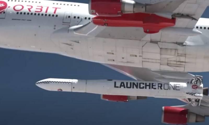 Lanciatore americano Un veicolo di lancio aereo raggiunge per la prima volta l'orbita di destinazione