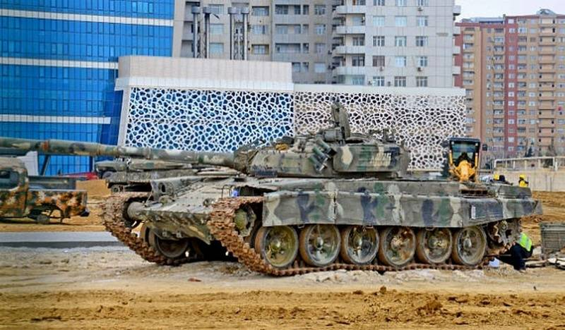 The captured military equipment of Armenia will be demonstrated in the new museum complex of Baku