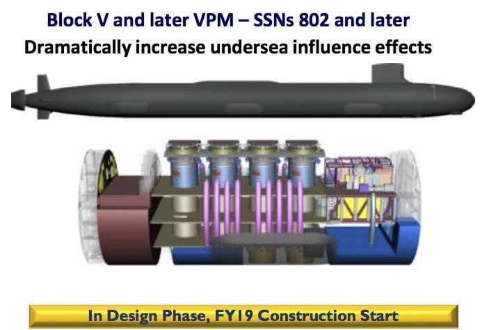 Перспективы строительства многоцелевых АПЛ типа Virginia (США)