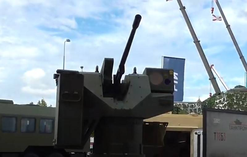 """The combat module """"Hunter"""" for armored vehicles received a new machine gun"""