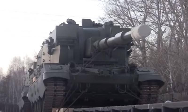 Опытную партию САУ 2С35 «Коалиция-СВ» отправят в Южный военный округ