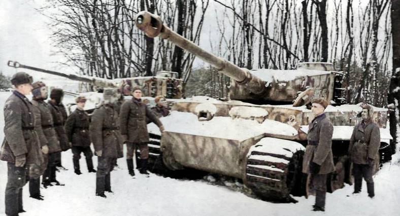 Использование трофейных «Пантер» и «Тигров» на завершающем этапе Великой Отечественной войны