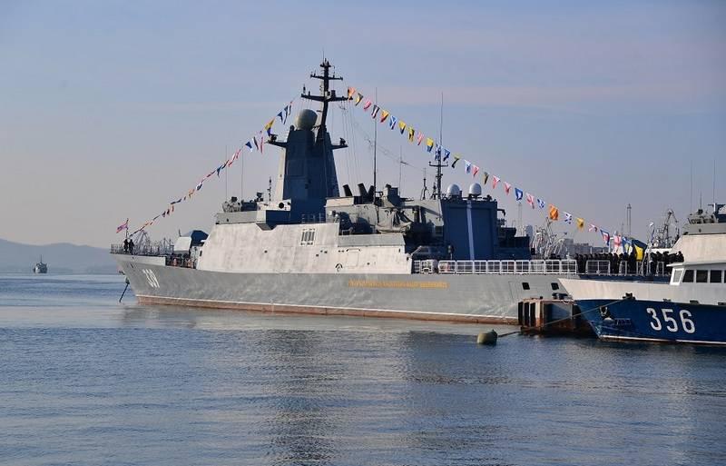 """La nouvelle corvette """"Aldar Tsydenzhapov"""" sera laissée à Vladivostok"""