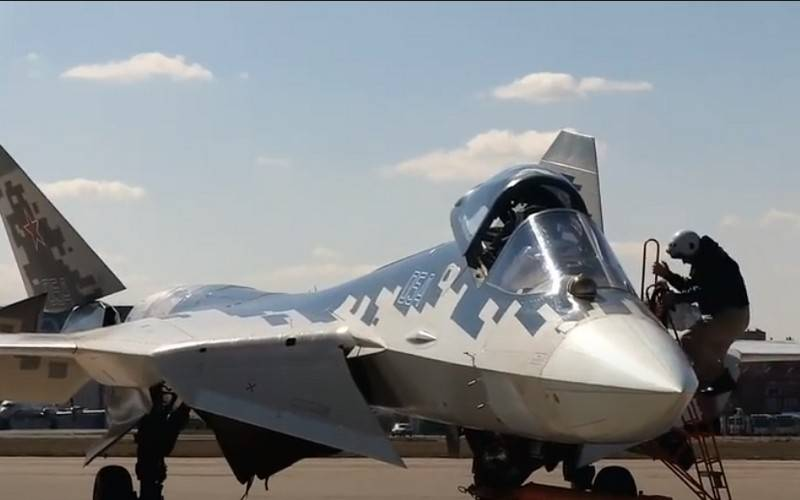The Indians will be shown a model of the export version of the Su-57E fighter