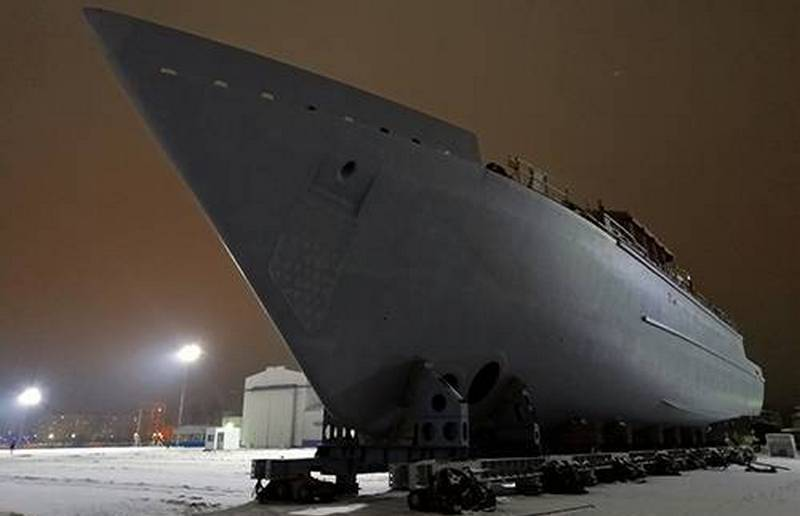 """The sixth minesweeper """"Pyotr Ilyichev"""" of project 12700 """"Alexandrite"""" is removed from the shop"""