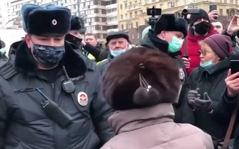 OMON está funcionando. Como estão os protestos no Extremo Oriente e na Sibéria