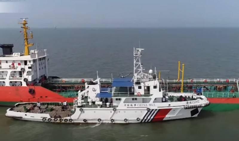 Береговая охрана Китая получила право открывать огонь по иностранным судам