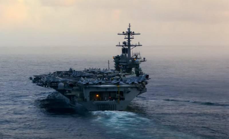"""""""Para garantizar la libertad de navegación"""": portaaviones estadounidense enviado al Mar de China Meridional"""