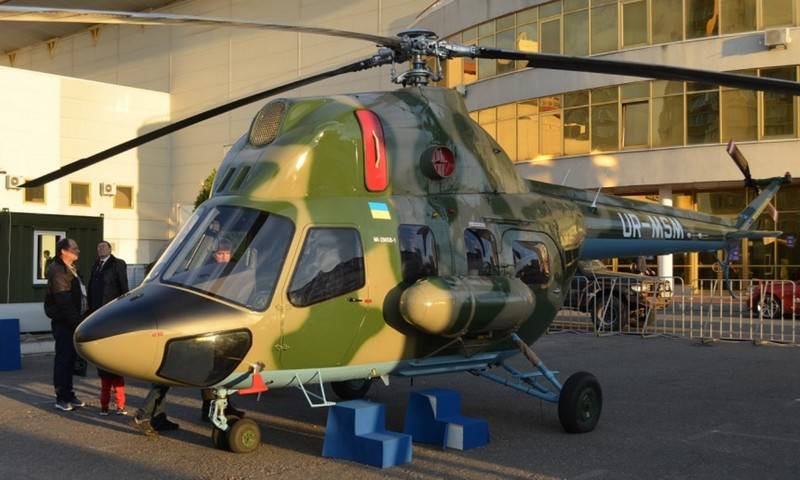 Motor Sich develops a shipborne helicopter for Ukrainian corvettes