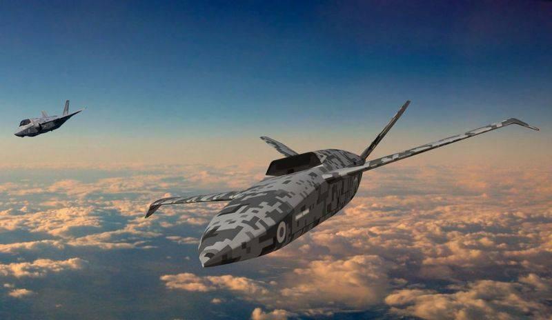 Großbritannien, um einen selbst entwickelten unbemannten Flügelmann zu testen