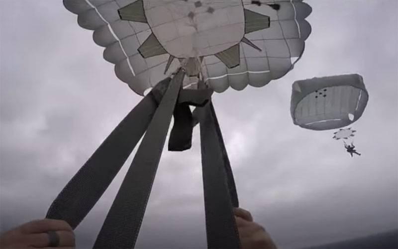 As Forças Armadas ucranianas planejam receber um novo lote de paraquedas da OTAN, o lote anterior revelou-se com defeito