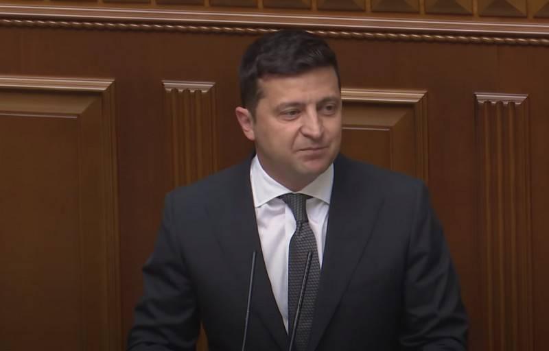 El presidente de Ucrania, Volodymyr Zelensky, se reúne para un segundo mandato