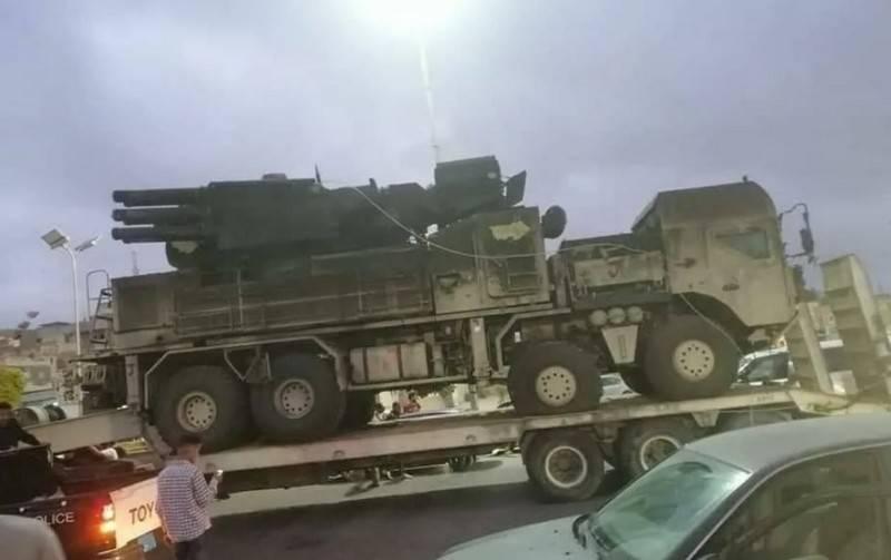 Britische Presse: Die USA haben das Flugabwehrsystem Pantsir-C1 in Libyen beschlagnahmt