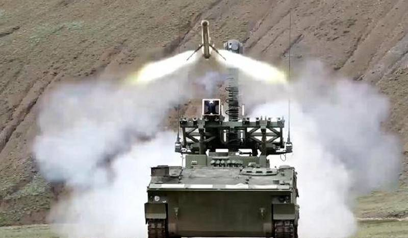 """""""Tanks disappear after a fight with HJ-10"""": the Chinese press showed footage of the use of self-propelled anti-tank systems"""
