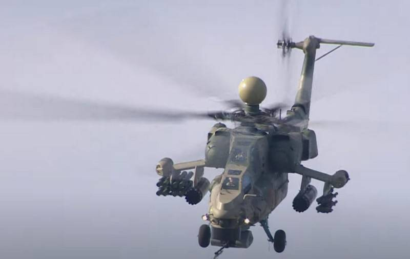 """Not in our favor"": Americans compared the Mi-28NM with the ""Apache"""