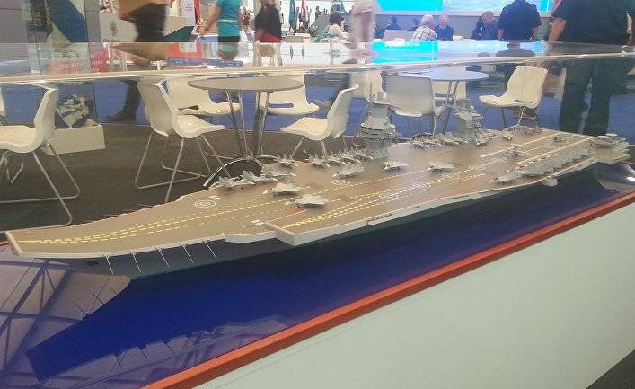 """""""Varan"""" against """"Manatee"""": what will be the Russian aircraft carrier of the new generation"""