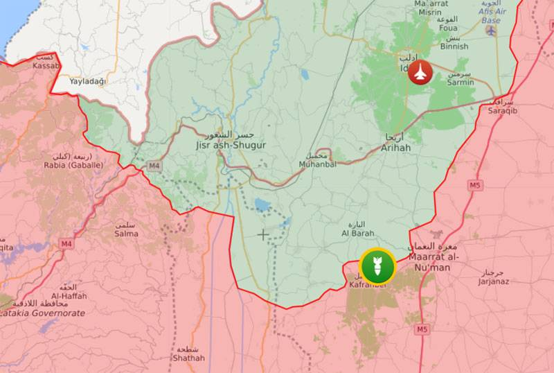 Aggravation in Idlib: militants launched missile attacks on the positions of the Syrian army